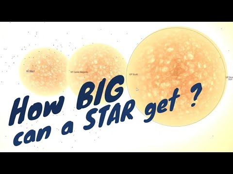 How BIG can a STAR get?