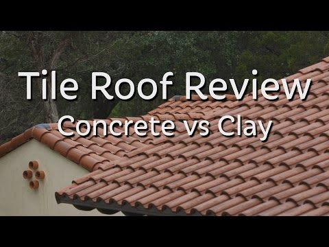 Tile Roof Review - Concrete vs Clay