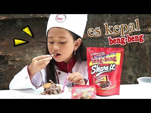 Jessica Membuat Es Kepal BENG BENG Viral Kekinian 💖 Ais Malaysia 💖 Koki Cilik