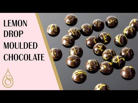 Lemon Drop Moulded Chocolates   Cooking Tutorial