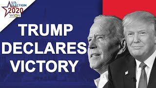 US Election 2020 Results Live: Trump: Biden campaign committed a fraud on the American people