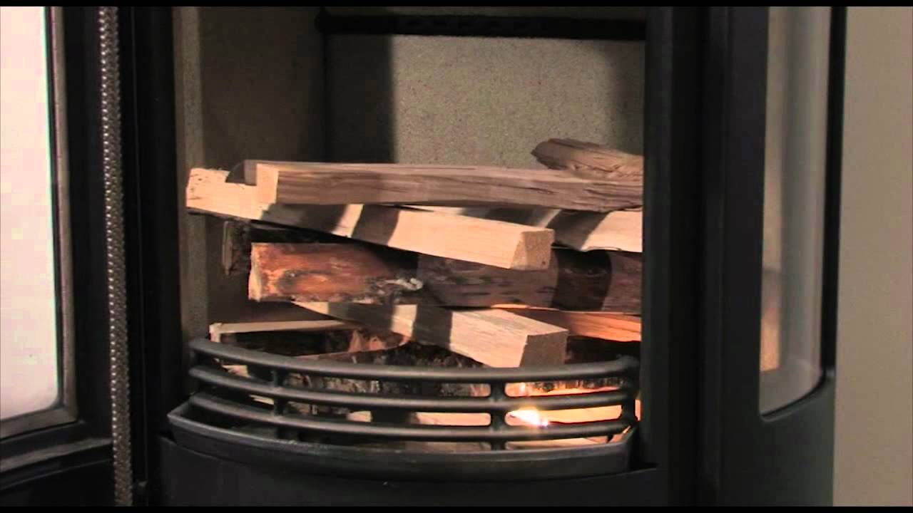 How to light your Wood Burning Stove | Contura - How To Light Your Wood Burning Stove Contura - YouTube