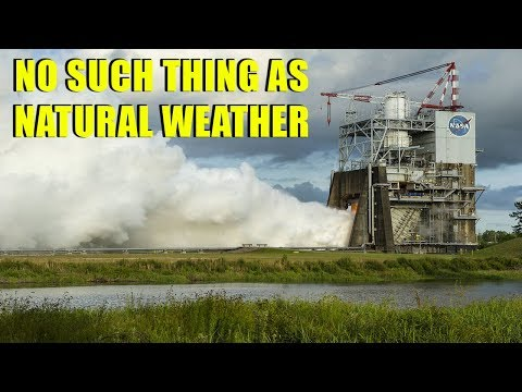 Proof of Weather Modification | NASA, HAARP & Chemtrail Technology ▶️️
