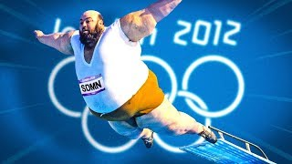THE BEST BELLY FLOP EVER! (London Olympics 2012)