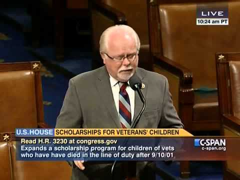 Rep. Barber pushes for passage of badly needed vets bill