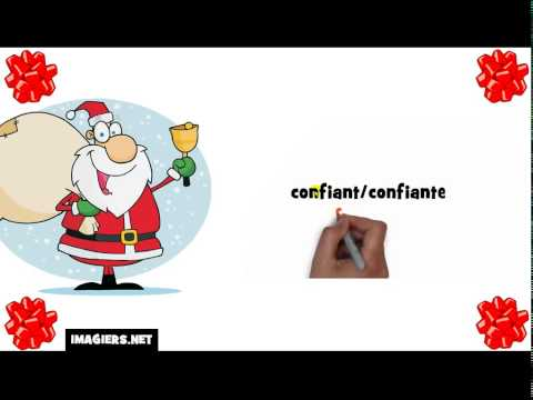 Learn French with Santa # confident