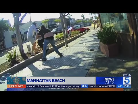 Argument over face masks escalates into brawl in Manhattan Beach