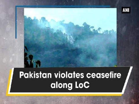 Kashmir News (25 June, 2017) - Pakistan violates ceasefire along LoC