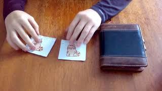 Бумажные сюрпризы .Распаковываю сюрпризы Стикеры VK  кот Персик +