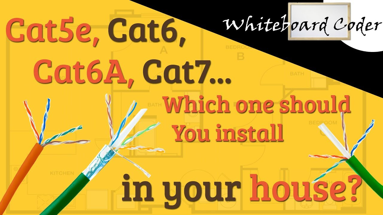 Cat5e Cat6 Cat6a Cat7 Which One Should You Install In Your Wiring Home Design House