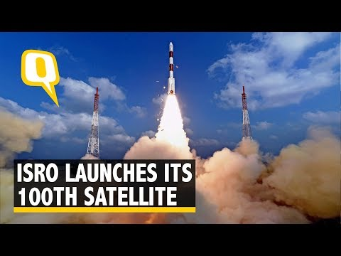 ISRO Hits Century, 31 Satellites Launched in Single Mission | The Quint