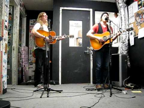 Andrew Belle - Oh My Stars (acoustic) - LIVE at UCLA Radio 3/2/2010