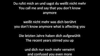 Revolverheld - Halt dich an mir fest (Lyrics in English)