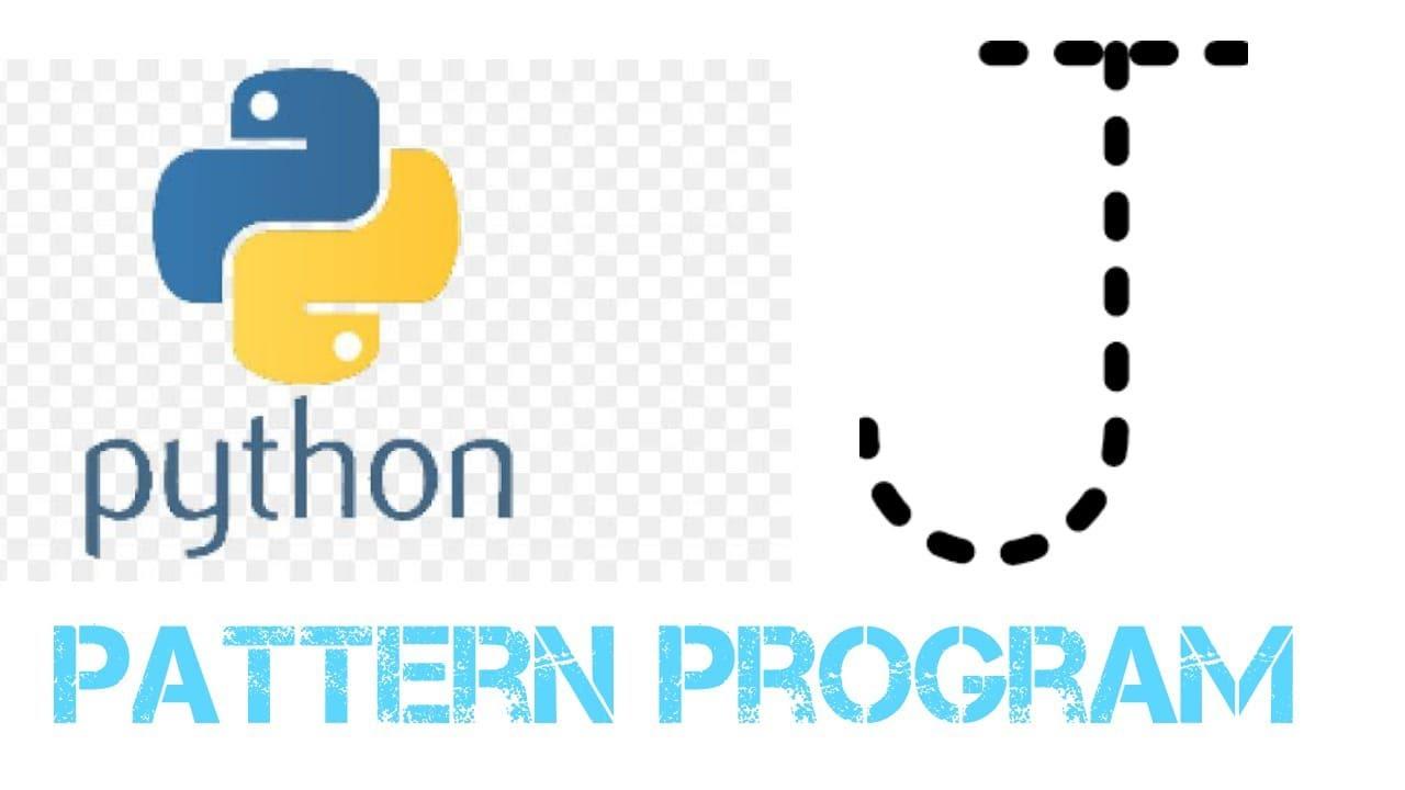Python Pattern Programs - Printing Stars '*' in J Shape || Python Exam Questions