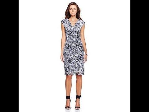 Tiana B Capsleeve Lace Dress