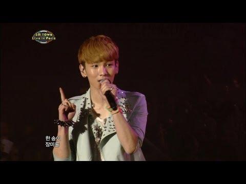 【TVPP】SHINee - Stand By Me, 샤이니 - 스탠바이미 @ SMTOWN in Paris Live