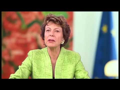 Neelie Kroes about young entrepreneurship G20 YEA