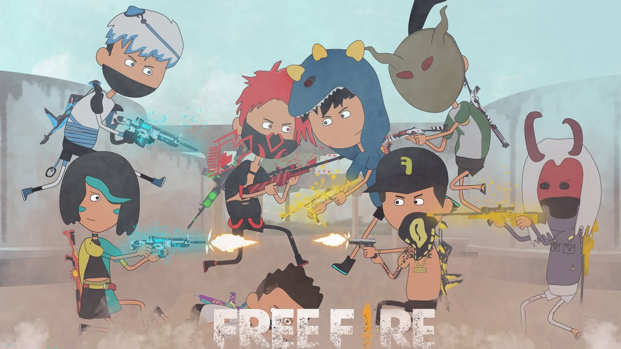 animation free fire - ratain mode clash squad bareng pro player - @BUDI01 GAMING , frontal gaming