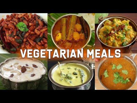 Vegetarian Meals Recipe | Vegetarian Curry | Meals Recipes