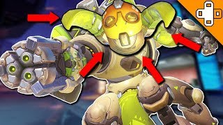 Orisa's Backwards Head! - Overwatch Funny & Epic Moments 304 - Highlights Montage
