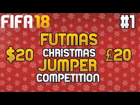 FIFA 18   FUTMAS SBC PACK OPENING + £20 Gift Card Christmas Jumper Competition