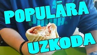 POPULĀRA MŪSDIENU UZKODA   ēdienvlogs   #5