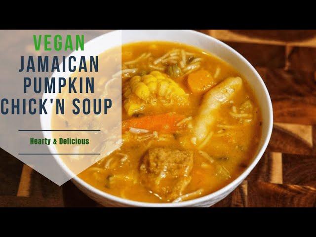 jamaican pumpkin soup recipe  deporecipeco