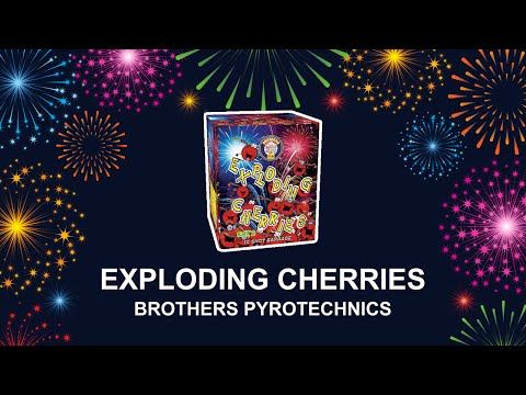 Exploding Cherries - Brothers Pyrotechnics (Fireworks, Cambridge)