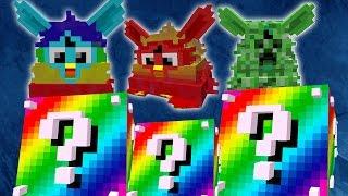 Minecraft: LUCKY BLOCKS RAINBOW | EJÉRCITO FURBY | Desafío de la Suerte Especial - #60