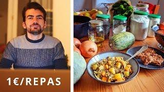 Manger pour 1€ par repas : Bio/local - Végétalien - Sans sucre* - Jour 1