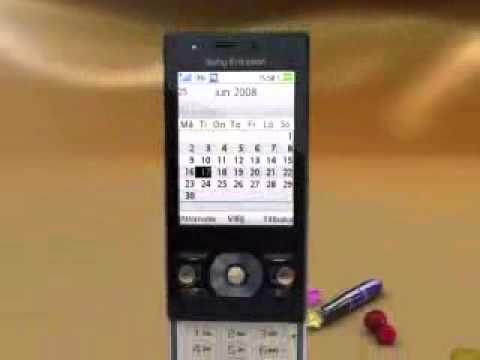 Sony Ericsson G705 - Demo Tour