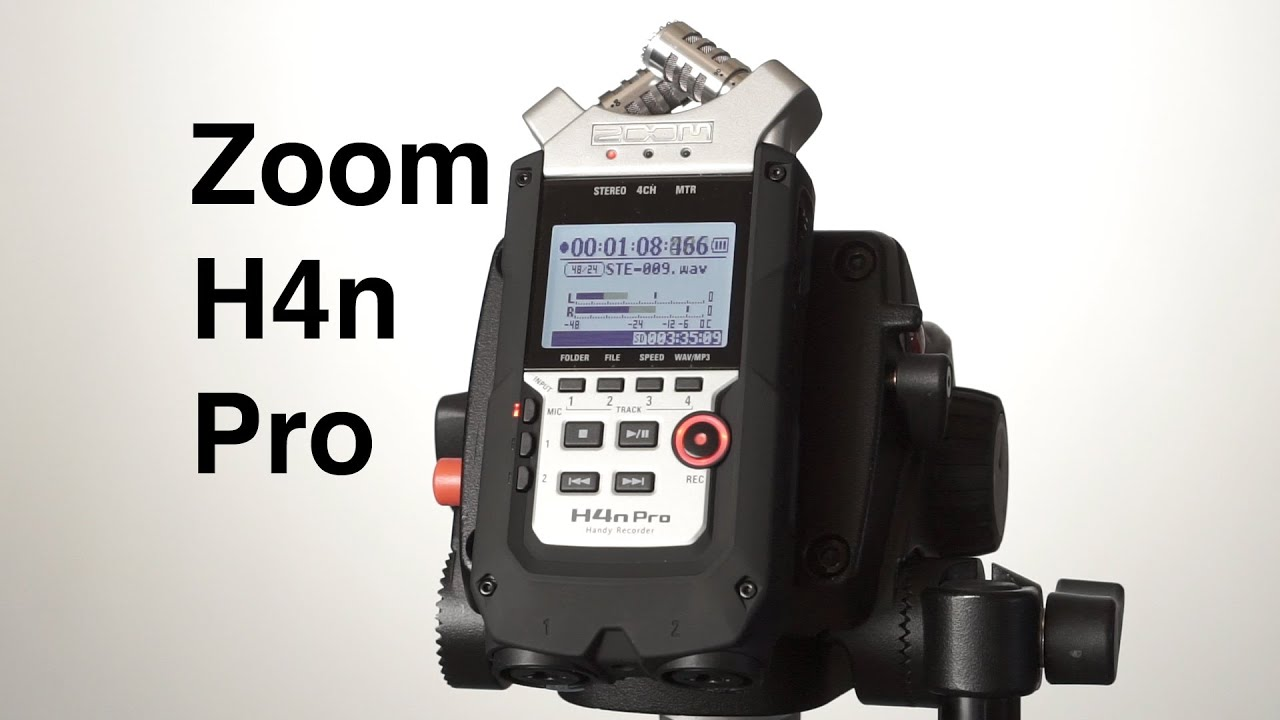 Zoom H4n Pro Digital Multitrack Recorder Review - Why Video