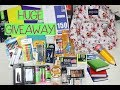 INTERNATIONAL BACK TO SCHOOL GIVEAWAY 2018! SCHOOL SUPPLIES & MAKEUP PRODUCTS (CLOSED)