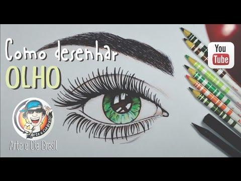 Como Desenhar Olho How To Draw Eye Sorteio