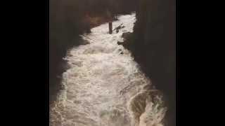 Alluvione in Corsica: torrenti in piena