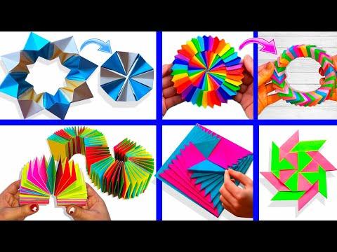 Движущиеся игрушки из бумаги своими руками