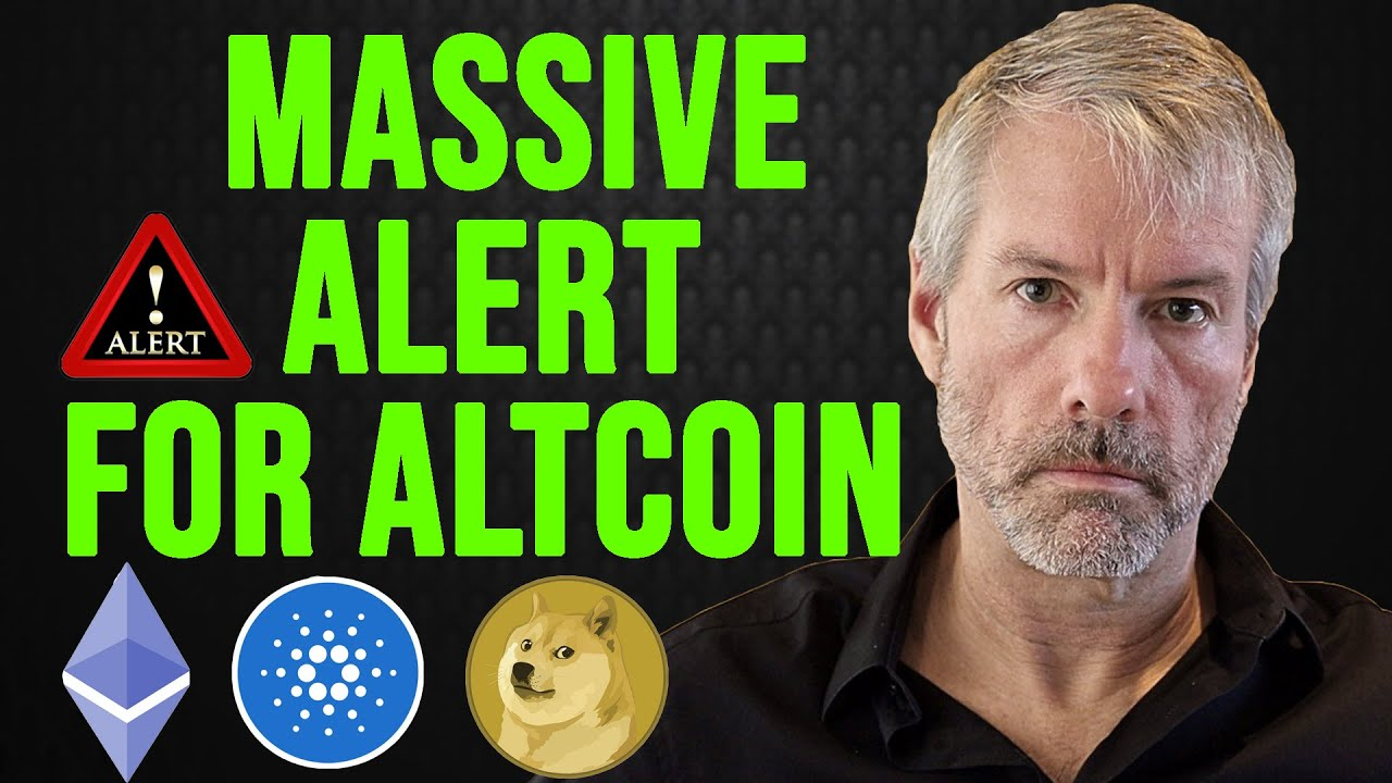 Michael Saylor Explains The Reasons Why He Doesn't Buy Altcoins! #Bitcoin #BTC #Altcoin