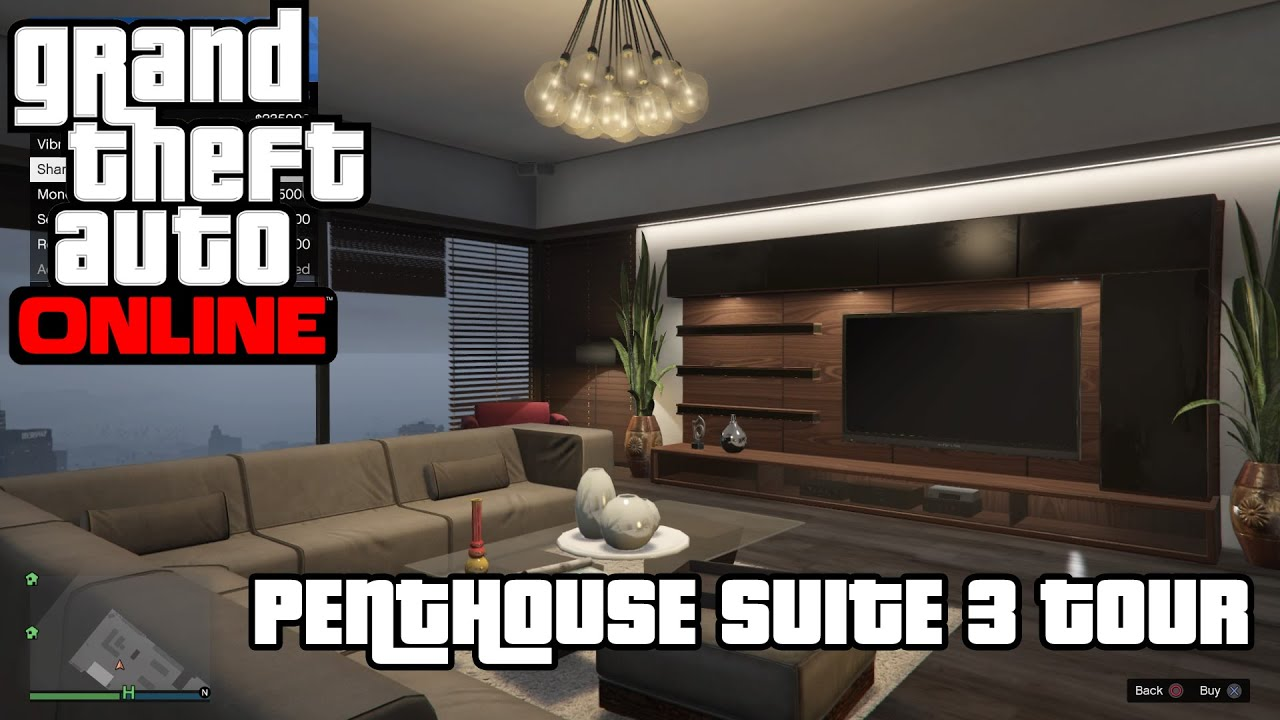 GTA 5 ONLINE - BUYING A 1 MILLION DOLLARS APARTMENT / PROPERTY .