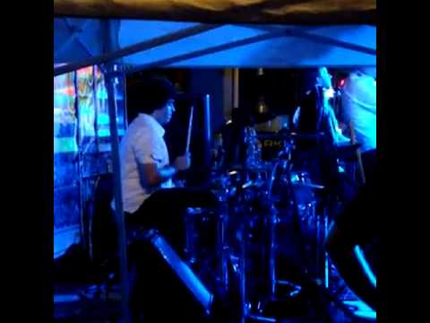 Mirk and the New Familiars Live   Stephen Struss Drum Solo