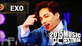 Gambar cover [2015 MBC Music festival] 2015 MBC 가요대제전 - EXO - Love Me Right, 엑소 - Love Me Right 20151231