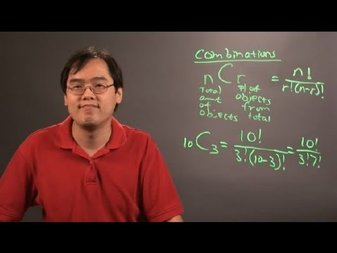 How to Do Combinations in Math : Principles of Math