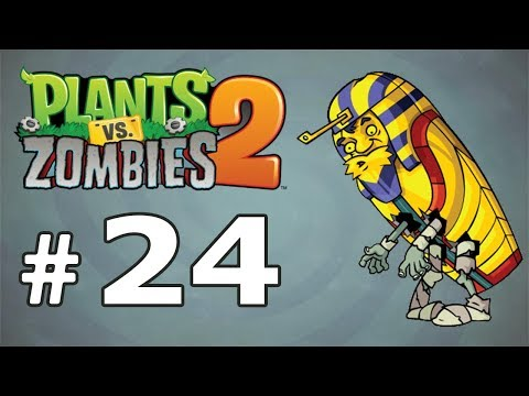 Plants vs  Zombies 2 It's About Time - Gameplay Walkthrough Part 24 - Ancient Egypt (Android)