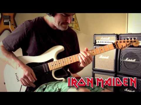 Iron Maiden - Powerslave Guitar Cover