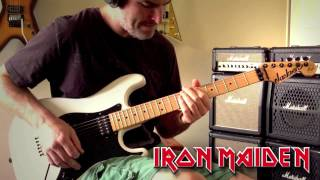 Iron Maiden - Powerslave Guitar Cover