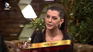 Beyaz Show 8 Şubat Wesley Sneijder'in eşi Yolanthe Cabau'un tercümanı - Eser TÖZÜM PART 3