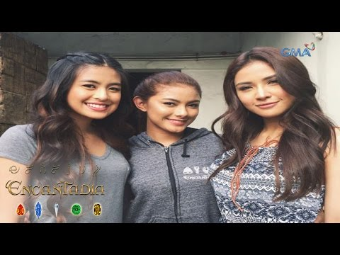 WATCH: 'Encantadia' studio tour by Gabbi Garcia, Kate Valdez, and Sanya Lopez