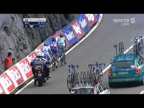Tour de Suisse 2007 - Climb of the Grimselpass (4/5)