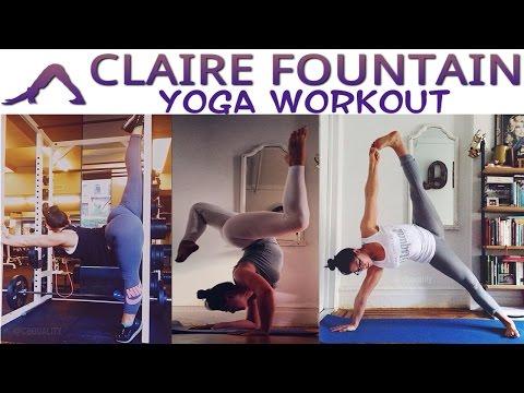 CLAIRE FOUNTAIN : Yoga Poses, Exercises & Yoga Natural Body @ USA