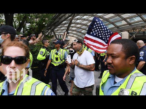 Washington braces for white supremacist rally