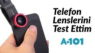 Telefon Lenslerini Test Ettim / En Ucuz Lensler / A101 Alışverişi